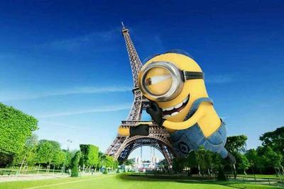 """麻省理工发明新型4D打印技术:几秒将埃菲尔铁塔""""掰直"""""""