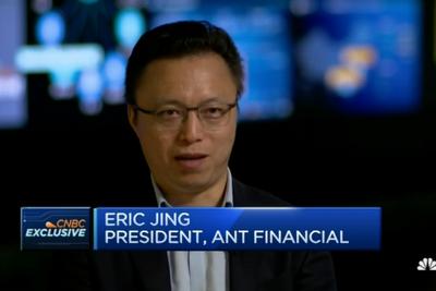 CNBC专访井贤栋:新技术和全球化将成蚂蚁金服重点投入领域