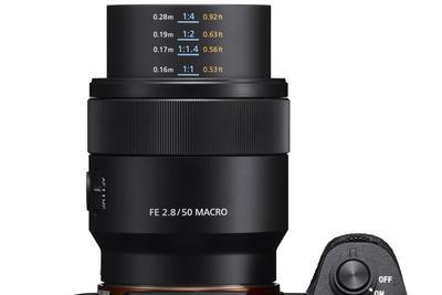 索尼发布FE 50mm F2.8微距镜头 售价3999元