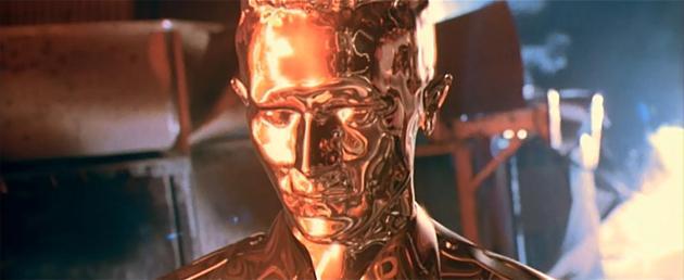 《终结者2》中的液态金属机器人T-1000