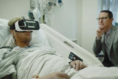 医院开始用虚拟现实缓解病人疼痛 吗啡看来要下岗了
