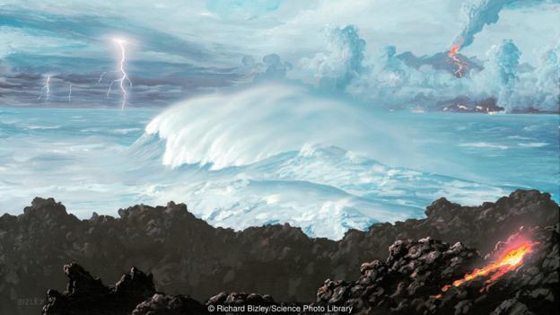 早期地球具有非常独特的环境条件