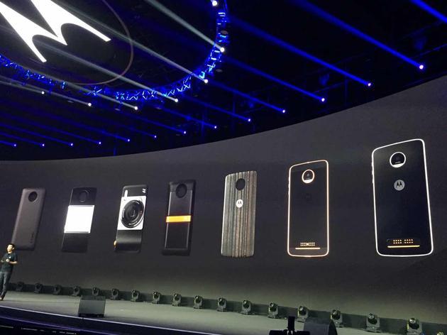 定义模块化手机 联想发布Moto Z以及Mods模块