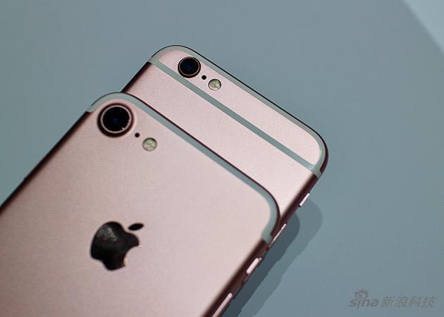 单镜头的iPhone 7,镜头变大了……