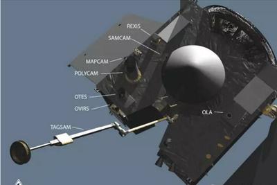 小行星取样探测器成功发射 7年旅程带太空样本回地球