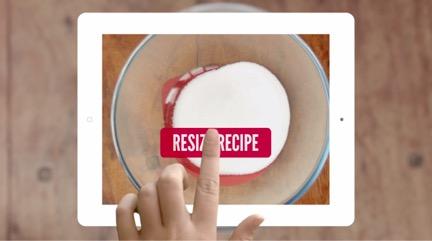 在Drop Recipes App内可以一键改变原料配比