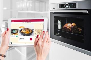 Drop Recipes App内置进Bosch智能烤箱后的使用场景