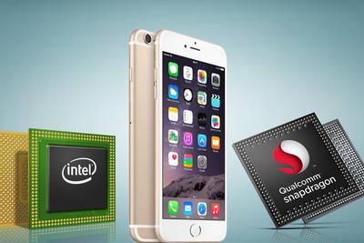 甩掉高通 英特尔为部分苹果iPhone手机供应无线芯片