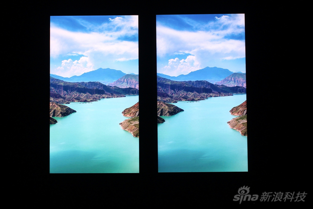 图左为iPhone 6s 图右为iPhone7