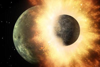 新研究称地球生命或诞生于44亿年前胚胎行星撞击
