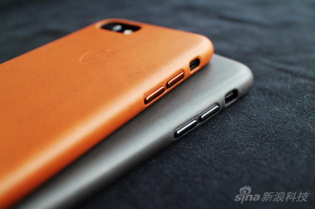 新手机套的侧面按键比之前手感更好