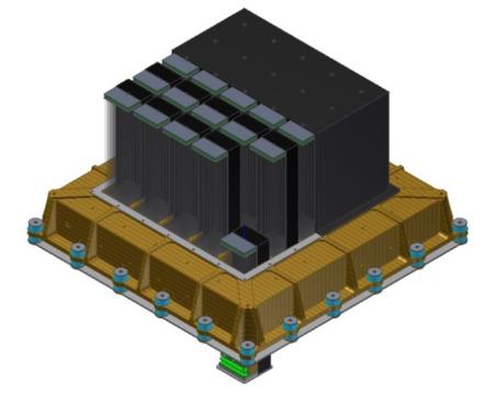 伽玛暴偏振探测器—OBOX设计原理图