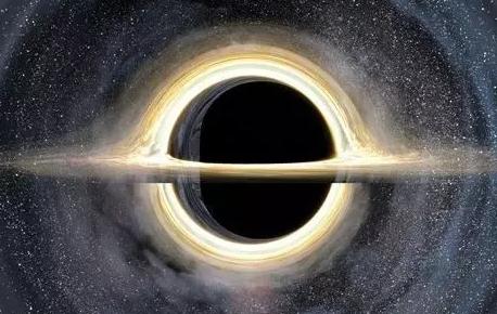 电影《星际穿越》中的黑洞(图片来自网络)