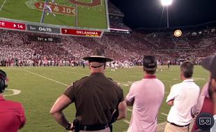 用VR看橄榄球赛是一种怎样的体验?