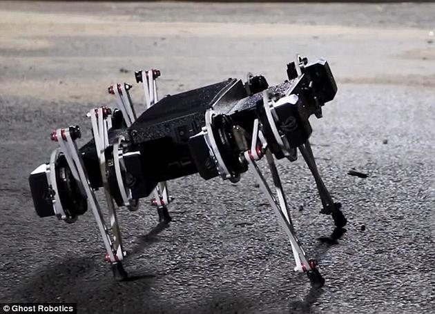 机器人可爱如小狗:可开门翻围墙 速度快得不可思议