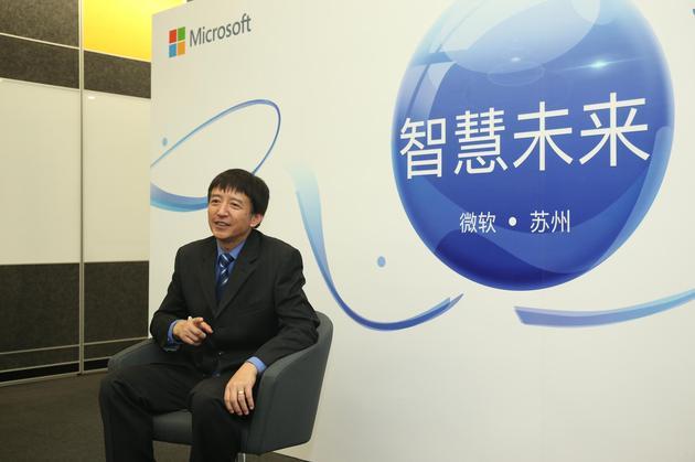 配图:微软亚洲互联网工程院院长王永东
