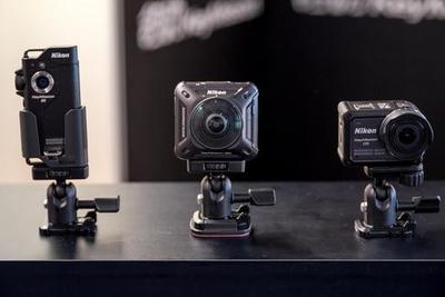钥动KeyMission三连击 尼康决心打进运动相机市场