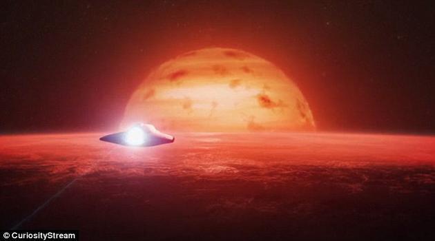 """""""在这颗行星上,一年只有短短36天。""""霍金指出。""""它的大气可能非常稠密,就像一层超级浓厚的雾,笼罩在地表之上。甚至还会更糟,它的引力可能和中央恒星差不多。而且,它的其中一面始终正对着太阳,不适合进行户外行动。"""""""