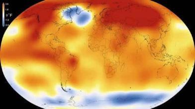 地球温度未来或上升3至7摄氏度图片