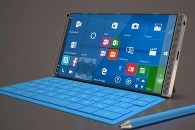 微软Surface Phone概念图:缩小版平板