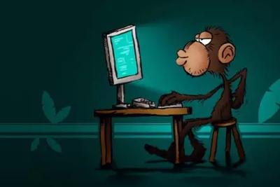 """大脑传感新技术""""隔空""""打字提速:猴子每分打十二单词"""