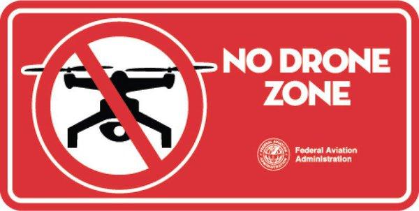 联邦航空局指示牌