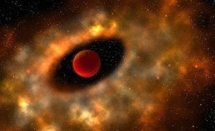 小质量天体周围发现尘埃盘结构