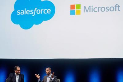 Salesforce不甘心竞购失败:欧盟应调查微软收购LinkedIn