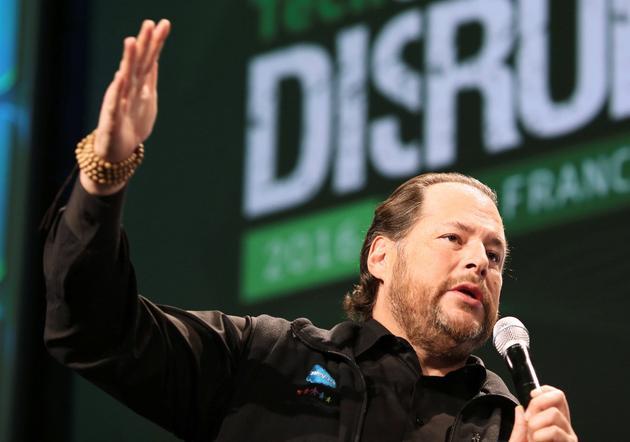 传大股东施压Salesforce:别收购Twitter