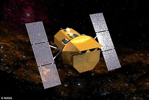 """美国宇航局的""""雨燕""""探测器。本次研究中,科学家们调用了雨燕卫星上的两台望远镜设备:X射线望远镜(XRT)以及紫外/可见光望远镜(UVOT)"""