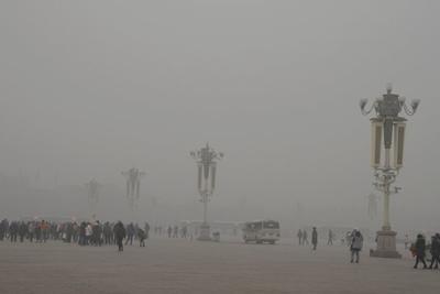 全力应对雾霾污染 雾霾净化塔在京开始测试