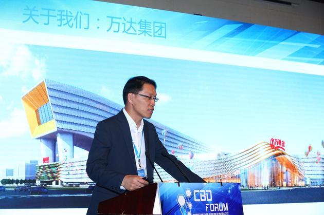 万达网络科技集团首席架构师蔡栋