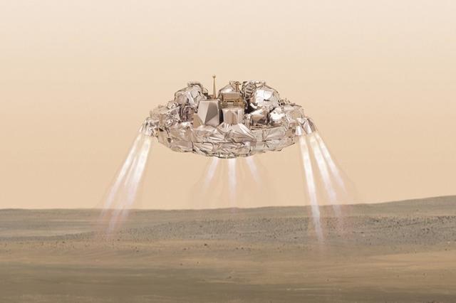 欧洲航天局火星着陆舱在降落中失联