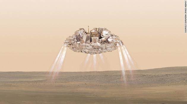 火星探测器着陆monitu
