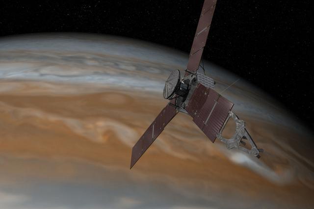 """木星探测器朱诺号再次发生故障:进入保护性""""安全模式"""""""