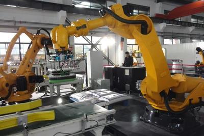 中国工业机器人使用密度达每万人49个,亚洲是最大市场
