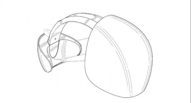 这是六月份曝光的专利所显示的设计