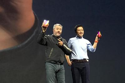 整场发布会主角是它!小米发布概念手机——小米MIX