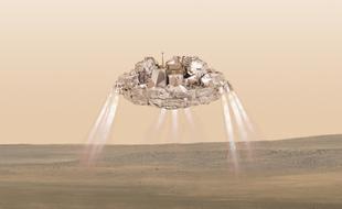 欧空局默认最新火星着陆器着陆失败