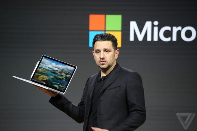微软New Surface Book i7:双风扇设计售价1899美元起