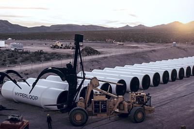 超级高铁造价远超预期 Hyperloop One明年还要融资2.5亿