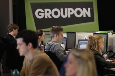 美国团购网站步中国合并潮后尘:Groupon收购老对手