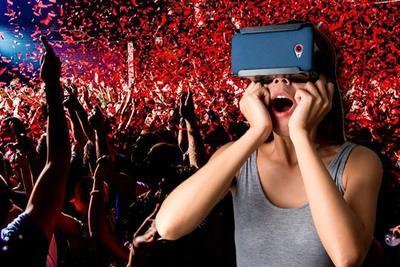 VR傍演唱会市场 真卖点还是假噱头