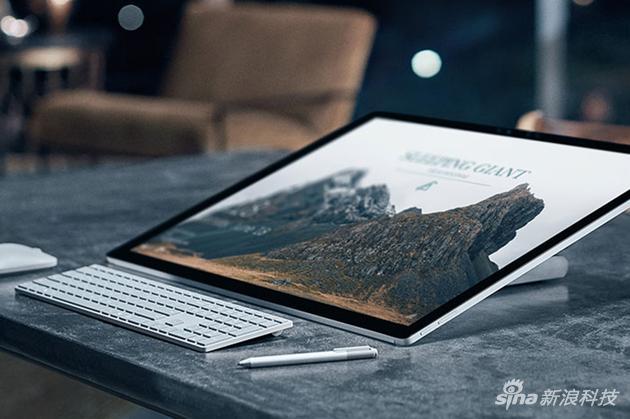 Surface Studio现场体验:可以推倒的28寸一体机