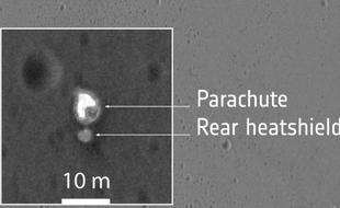 美发布斯恰帕拉利探测器坠毁地图像
