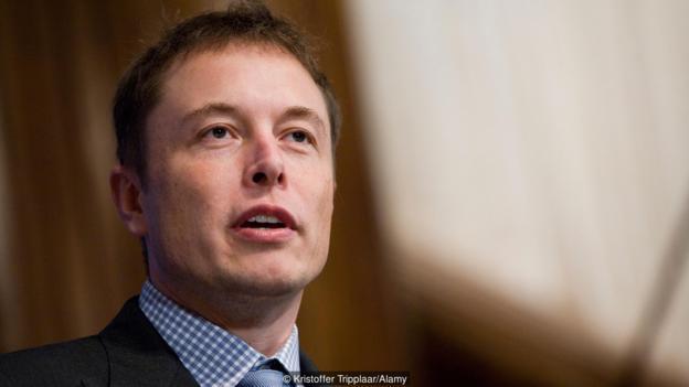 图为特斯拉和SpaceX公司CEO伊隆・马斯克。