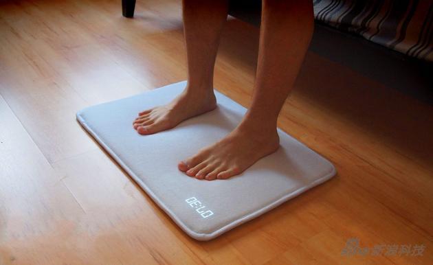 脚垫+体重计