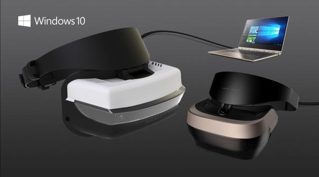 微软Windows 10 VR头盔详细信息12月公布:299美元起售