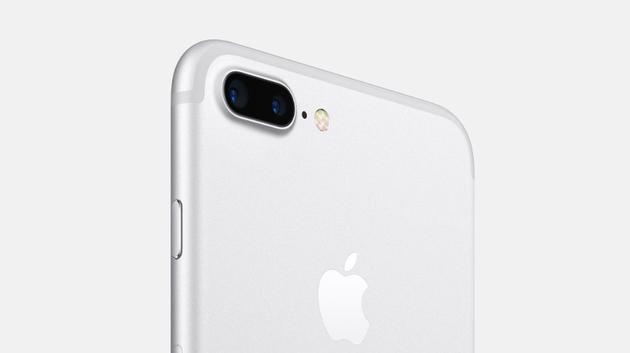 亮白色iPhone 7/iPhone 7 Plus渲染图