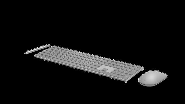 与SufaceBook一样的银灰色